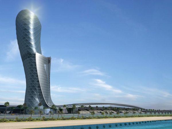Hyatt Capital Gate, Abu Dhabi, UAE
