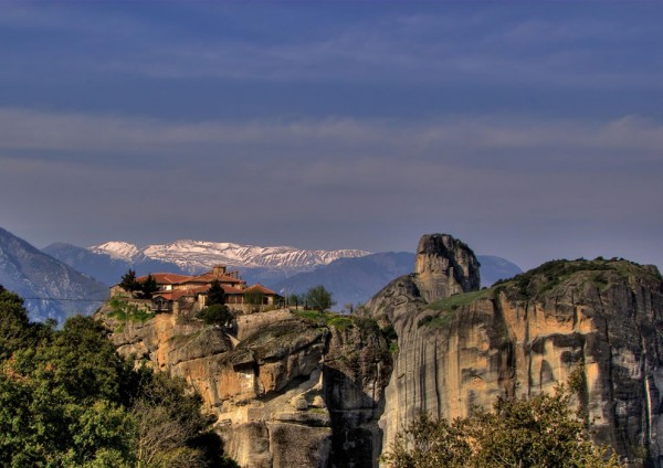 The panoramic views of Meteora are breath-taking