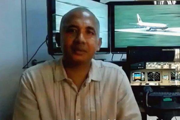 Captain Zaharie Ahmad Shah of flight MH370