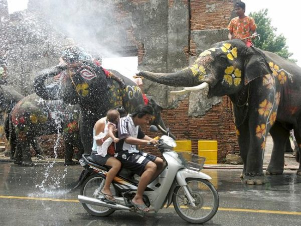 Songkran - driving