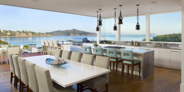 The Mansion - panoramic views of the San Francisco Bay