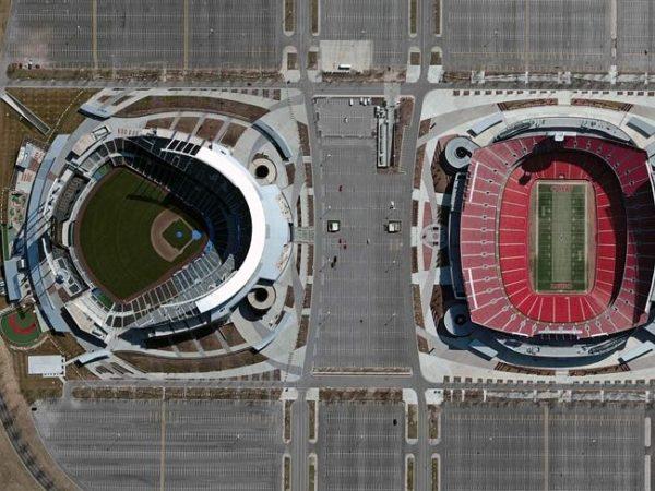Kauffman Stadium and Arrowhead Stadium — Kansas City, USA