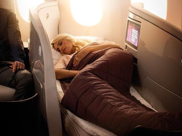 Business class sleepers