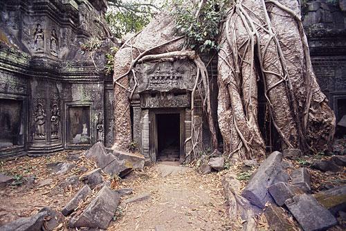 An ancient temple of Angkor Wat, Cambodia