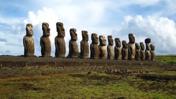 Moai, Easter Island (Rapa Nui), Polynesia