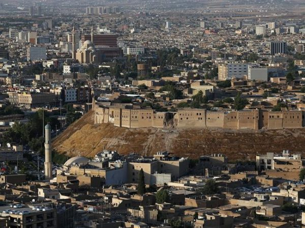 The ancient citadel in Erbil