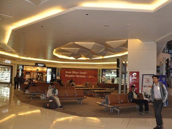 Terminal 3 at Indira Gandi Airport, New Delhi. Picture by Rajkumar12220 - Source: Flickr