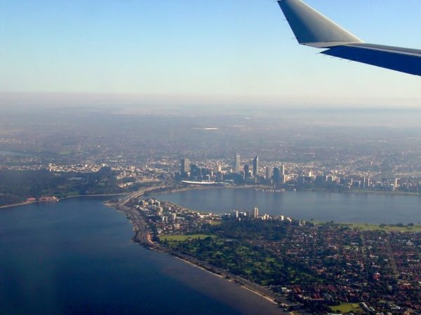City of Perth - Australia is 4th overall when it comes to the cheapest airfare