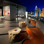 Sky Suite Balcony at MGM Grand in Las Vegas