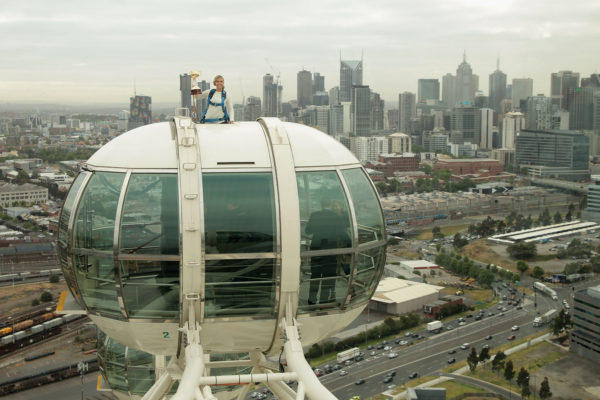 Melbourne Cup held 120m in the air on the Melbourne Star Observation Wheel