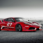 Ferrari F430 Race car at the Las Vegas Speedway —Dream Racing