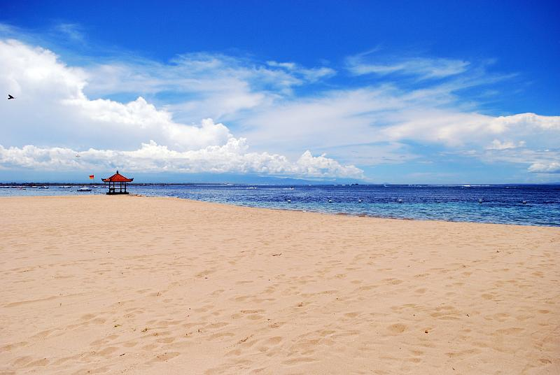 Tropical Bali Beach