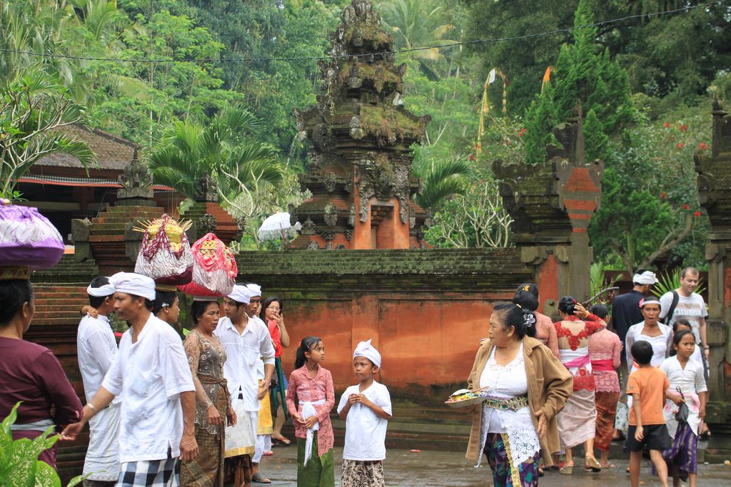 Local Balinese People