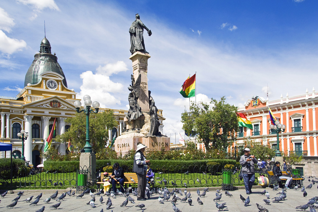 La Paz, Bolivia has been named as one of the seven natural wonders of the world.