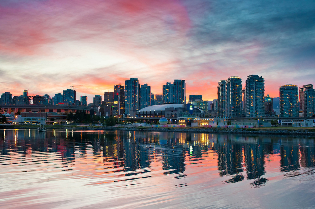 Vancouver, British Columbia - one of the top summer travel destinations of 2015