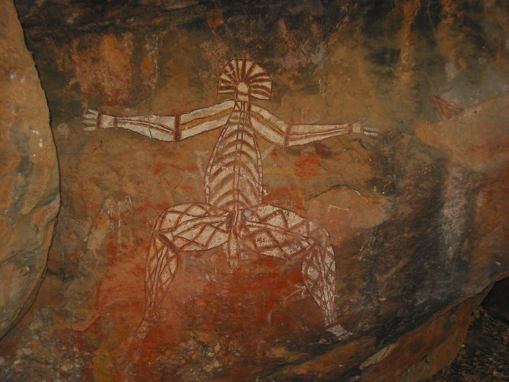 Aboriginal rock painting, Kakadu National Park