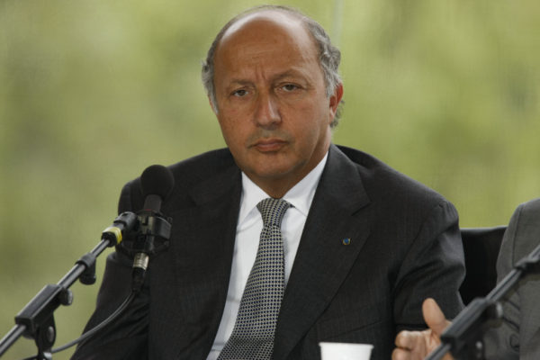 Laurent Fabius, Foreign Minister of France