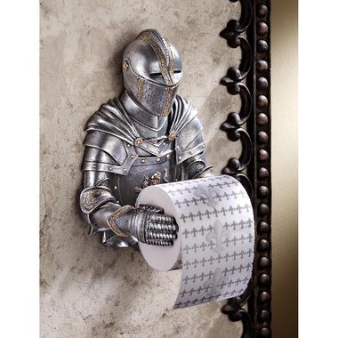 Knight Toilet Paper Holder (via Skymall.com)
