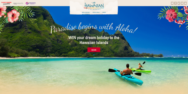 Hawai I Tourism Oceania Launches Digital Campaign For