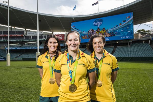 Olympic winner Women's Sevens team to play in Sydney 7s