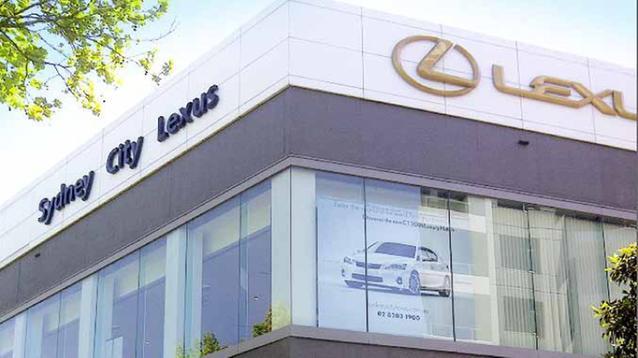 Lexus dealerships sydney
