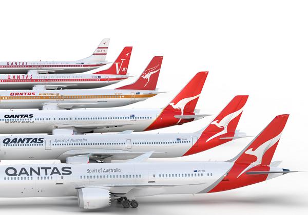 qantas logo updates