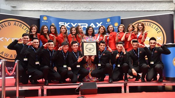 AirAsia wins the honour of World's Best Low-Cost Airline at Skytrax
