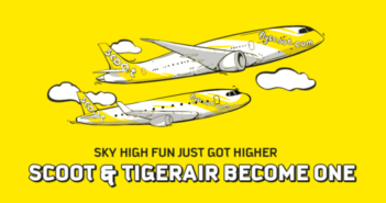 Scoot and Tigerair to merge and operate under Scoot brand