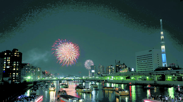 Sumida River Fireworks Festival in Tokyo expecting a record number of visitors
