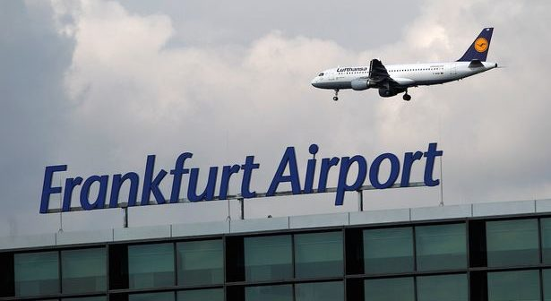 frankfurt airport tear gas attack