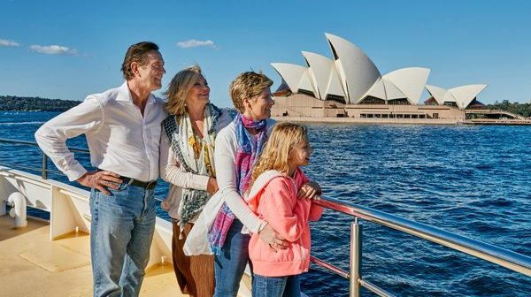 Treat your grandparents with a special breakfast or lunch buffet cruise