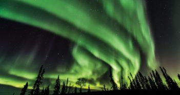 The Aurora Season is in full swing in Fairbanks
