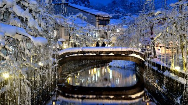 Visit Kinosaki Onsen to revitalise yourself after a ski holiday